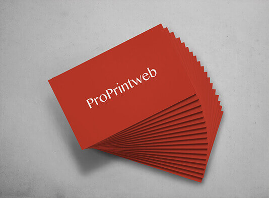 tarjeta de visita estandar proprintweb