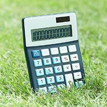 eco calculadora medioambiental pequeño
