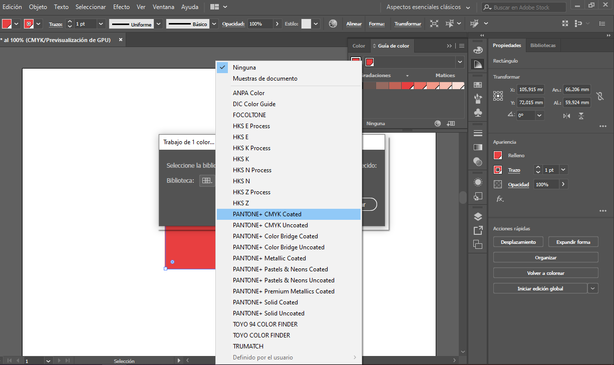 convertir cmyk a pantone illustrator 3 proprintweb