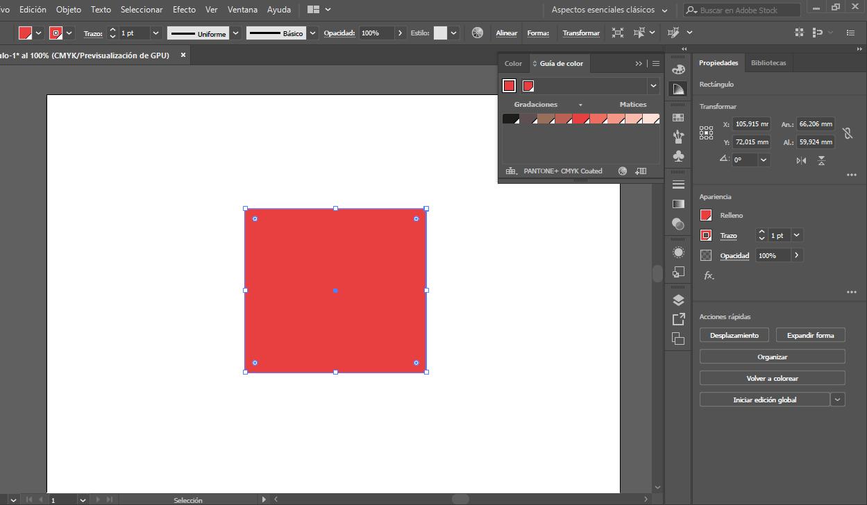 convertir CMYK a Pantone en illustrator proprintweb 5