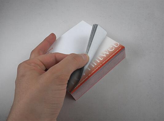 Imprimir tacos notas personalizados de papel - ProPrintweb