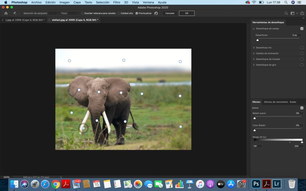Desenfocar el fondo en Photoshop - paso3 articulo ProPrintweb