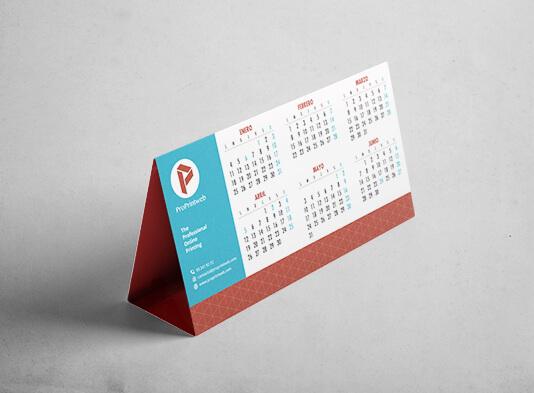 calendarios_ sobremesa personalizados_troquelados - ProPrintweb