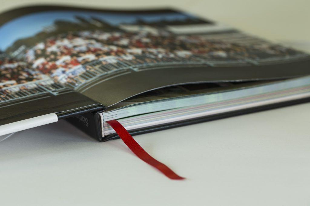 Cabezada y marcapaginas de un libro - ProPrintewb