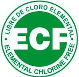 Logo ECF - papel ecologico - ProPrintweb
