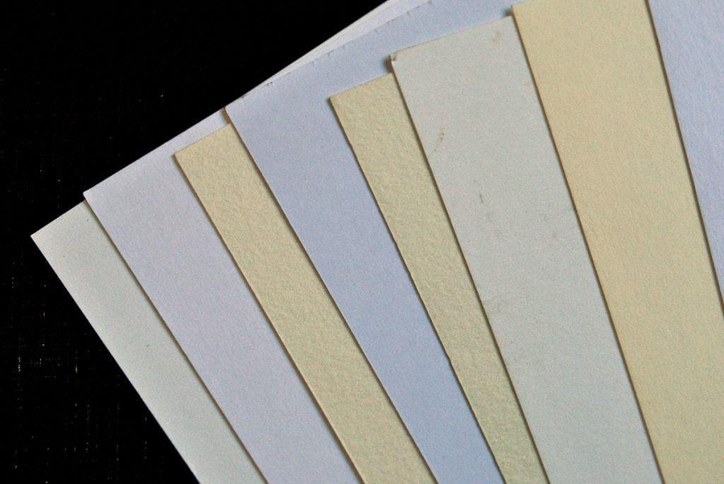 Papel offset poroso - tipos papel