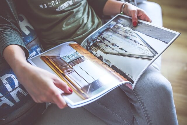 Elegir papeles para revistas