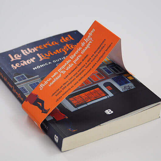 Poner fajas en un libro 3