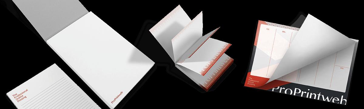 Blocs de notas personalizados