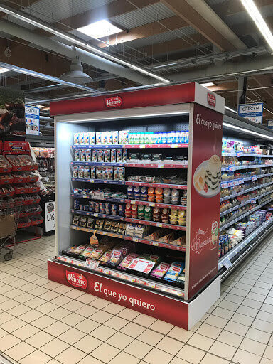 tiras lineales para supermercado