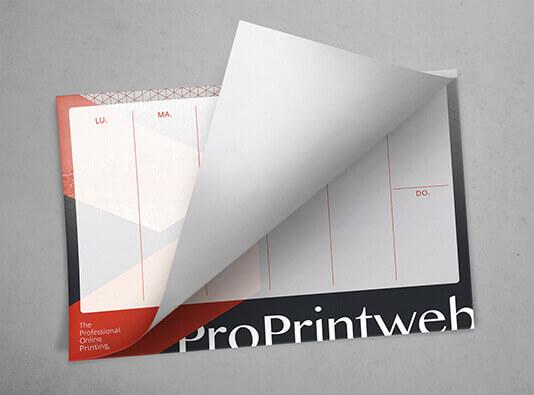 Imprimir calendario A3 sobremesa - ProPrintweb