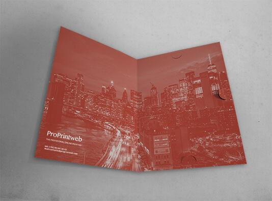 Impresión de Carpeta con 3 solapas - barata - ProPrintweb