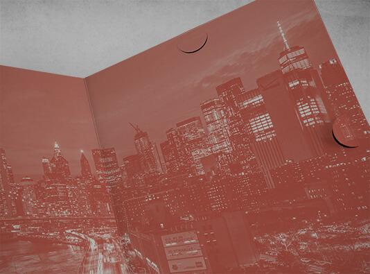 Imprimir maqueta real impresa - Carpeta troquel#121 - ProPrintweb