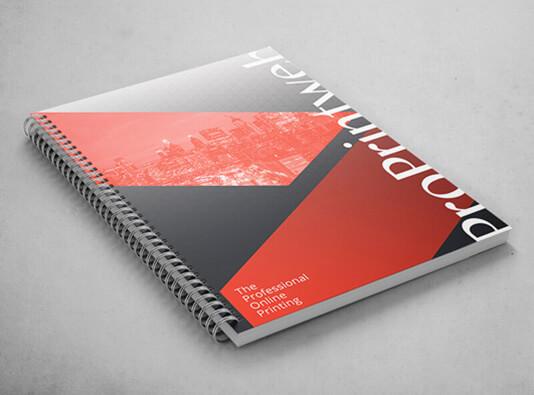 Imprimir Libreta espiralada corporatia - ProPrintweb