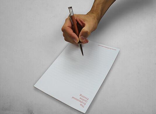 Imprimir libreta personalizada sin tapa - ProPrintweb