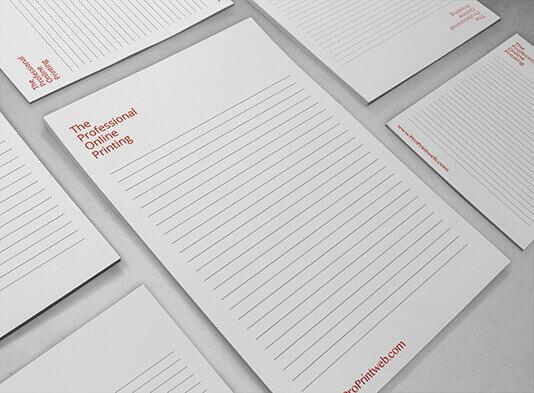 Imprimir libreta sin tapa personalizada - ProPrintweb