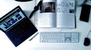 diseño gráfico de una revista