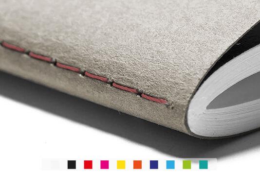 Imprimir libreta cosida a la vista - Elegir color del hilo personalizar - ProPrintweb