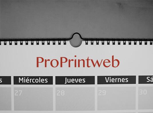 imprimir calendario pared colgador wire-o - ProPrintweb