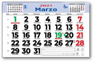 descubre calendarios personalizados faldilla mensuales