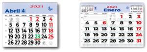 descubre calendarios personalizados mensuales