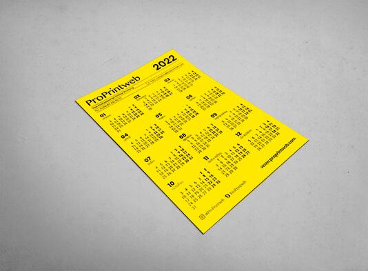 Calendario imantado para nevera - Imprenta ProPrintweb