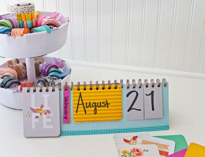 Calendario Espiralado Multiples formas - 2021